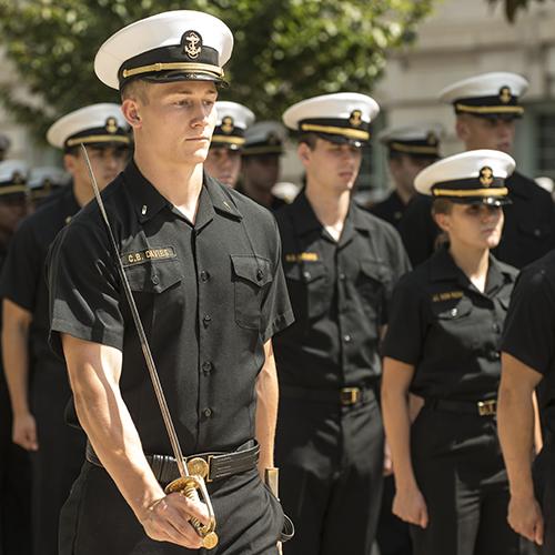 Legacy Studios. US Naval Academy midshipmen.